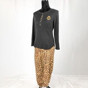 Lauren Ralph Lauren Leopard Pajamas